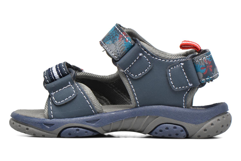 Sandales et nu-pieds Gioseppo Surferos Bleu vue face