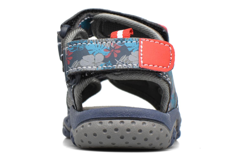 Sandales et nu-pieds Gioseppo Surferos Bleu vue droite
