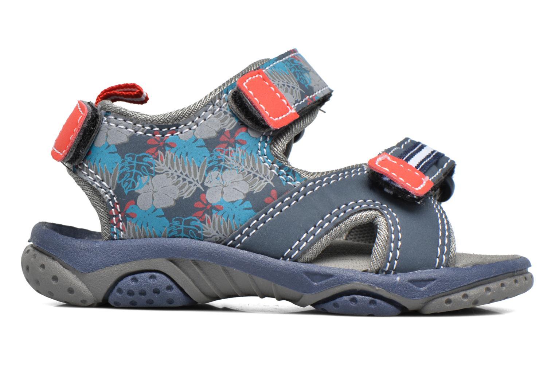 Sandales et nu-pieds Gioseppo Surferos Bleu vue derrière