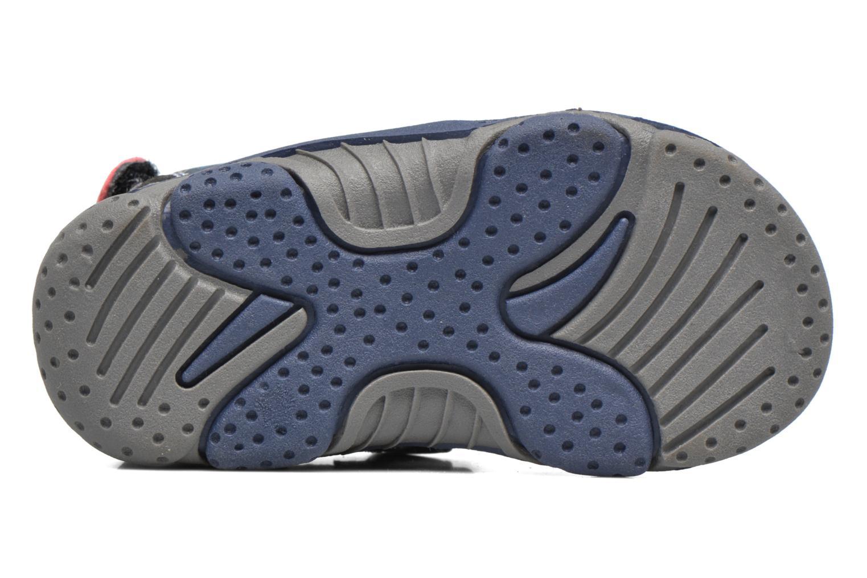 Sandales et nu-pieds Gioseppo Surferos Bleu vue haut