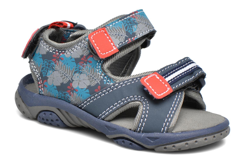 Sandales et nu-pieds Gioseppo Surferos Bleu vue détail/paire