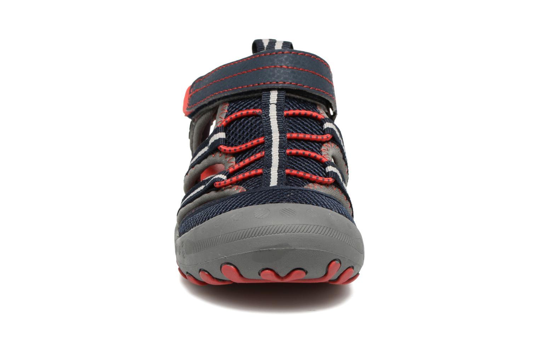 Sandales et nu-pieds Gioseppo Mess Bleu vue portées chaussures