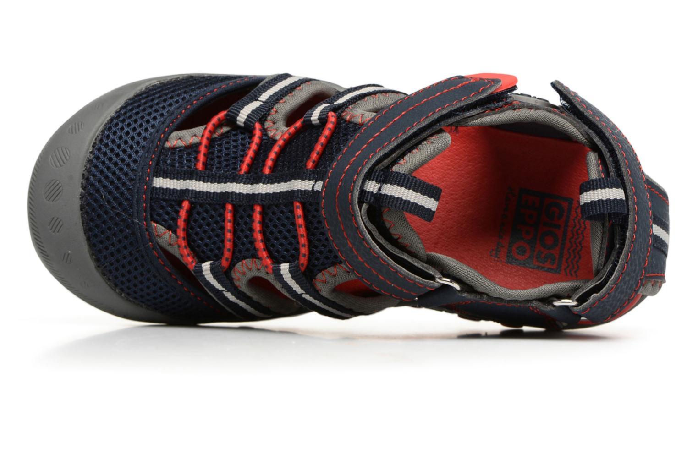 Sandales et nu-pieds Gioseppo Mess Bleu vue gauche