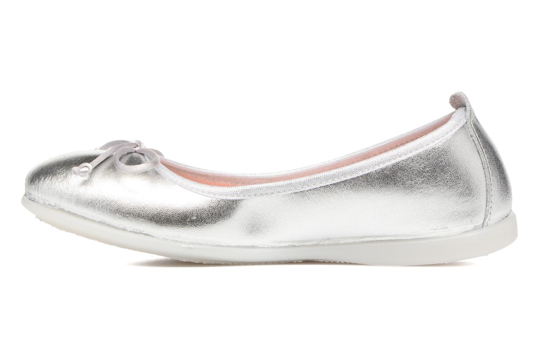 Ballerina's Gioseppo Ainara Zilver voorkant