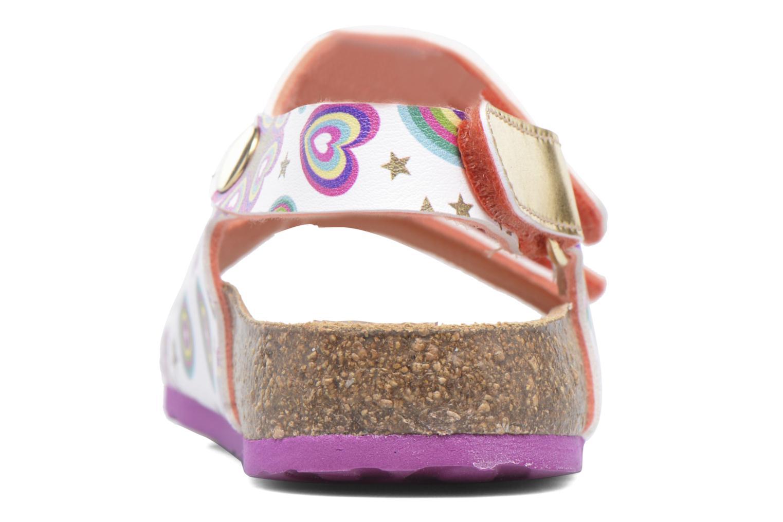Sandales et nu-pieds Desigual Bio Velcro Multicolore vue droite
