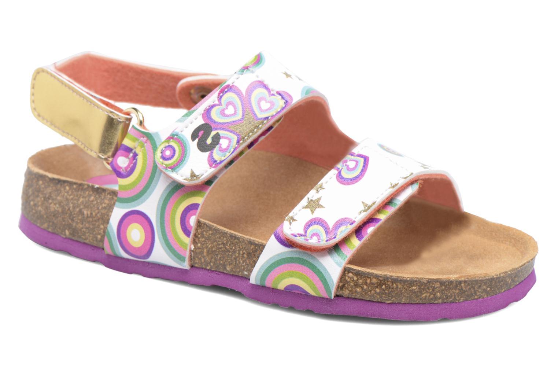 Sandales et nu-pieds Desigual Bio Velcro Multicolore vue détail/paire