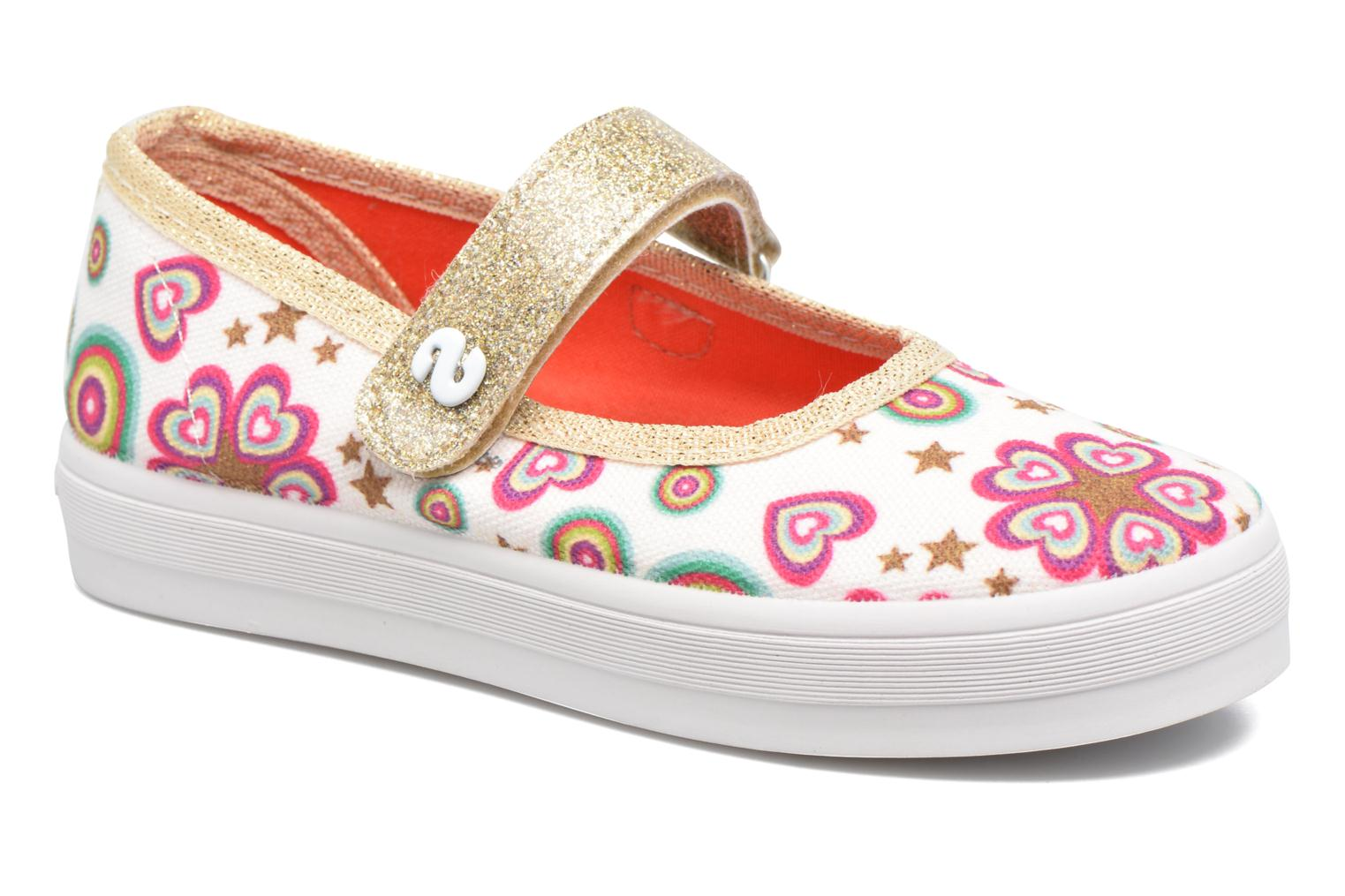 Desigual Mary Jane Blanco
