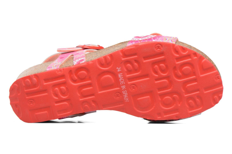 Sandalen Desigual Strips Wedge Roze boven