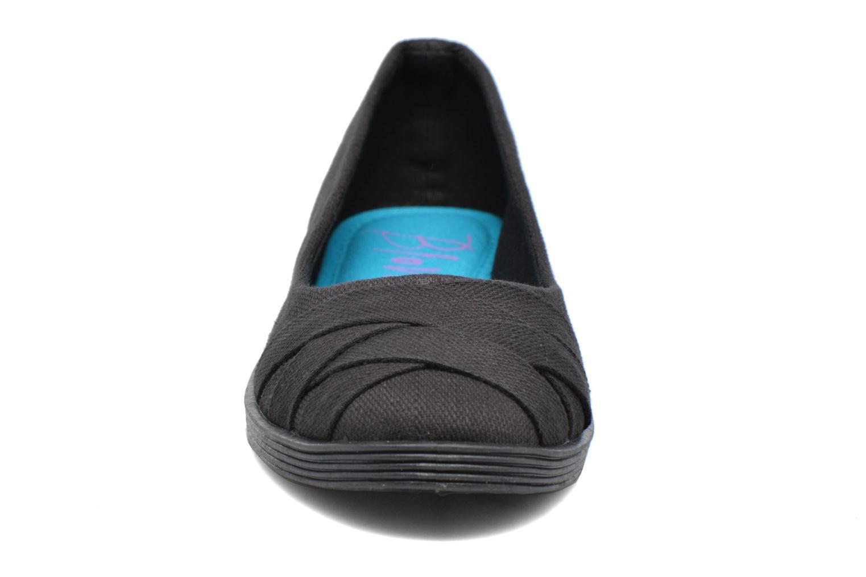 Ballerines Blowfish Glo2 Noir vue portées chaussures