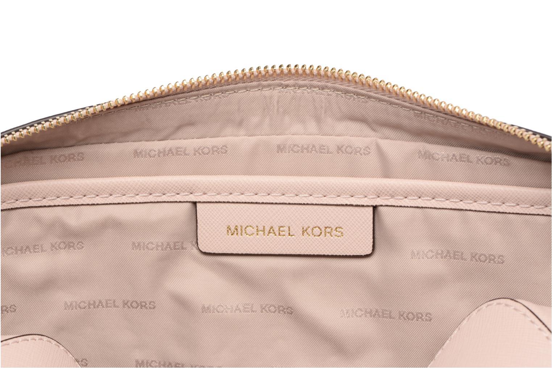 Bolsos de mano Michael Michael Kors LG EW Crossbody Rosa vistra trasera