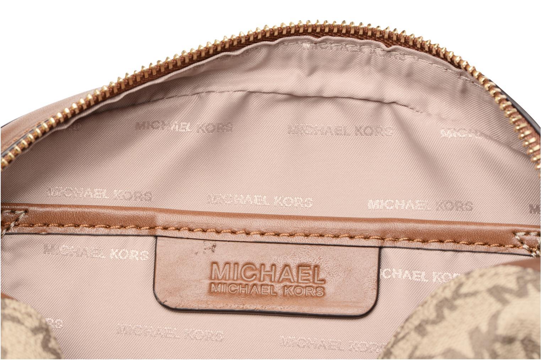 Sacs à main Michael Michael Kors GINNY MD MESSENGER Beige vue derrière