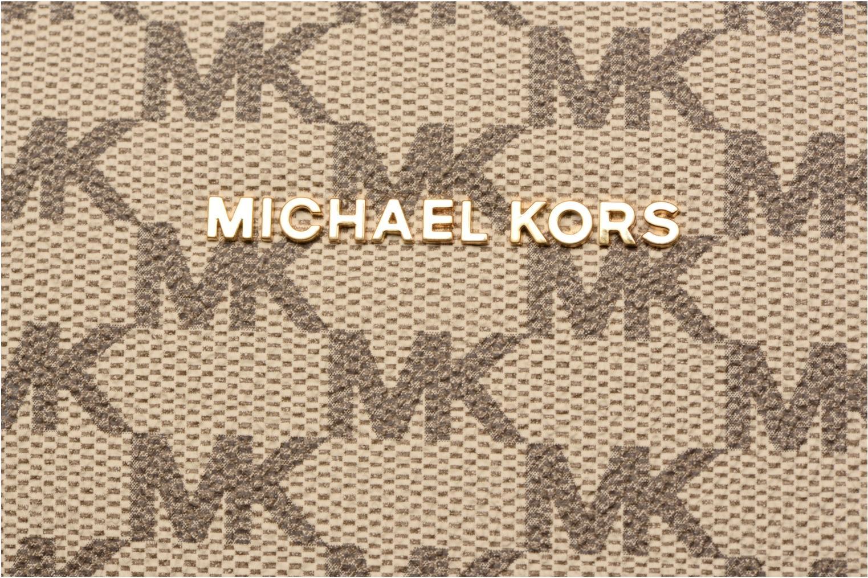 Sacs à main Michael Michael Kors GINNY MD MESSENGER Beige vue gauche