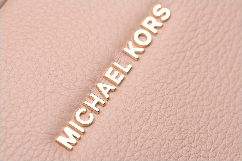 Bolsos de mano Michael Michael Kors GINNY MD MESSENGER Rosa vista lateral izquierda