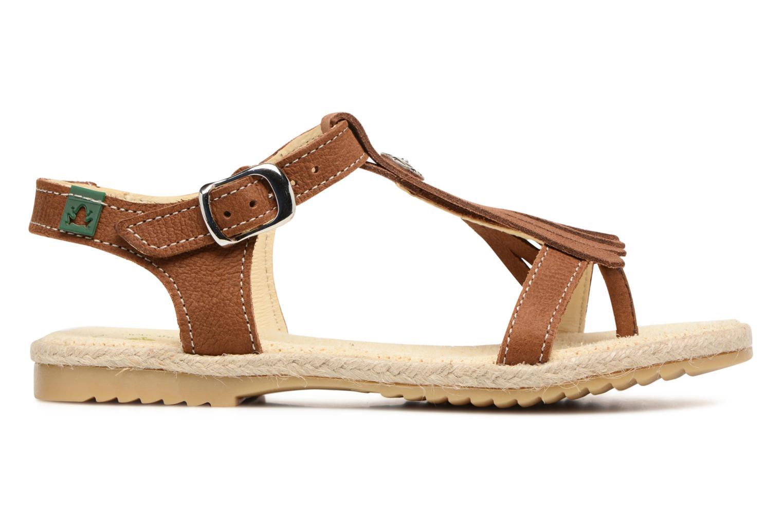 Sandales et nu-pieds El Naturalista Samoa E116 Marron vue derrière