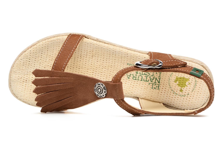 Sandales et nu-pieds El Naturalista Samoa E116 Marron vue gauche