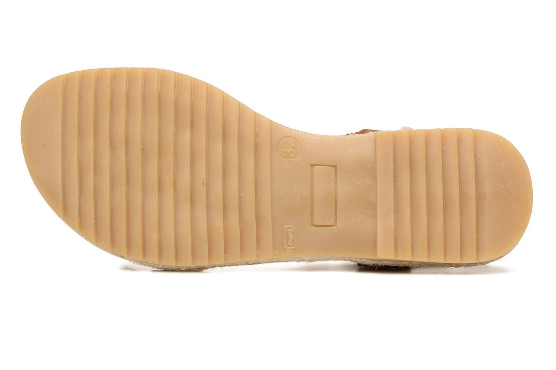 Sandales et nu-pieds El Naturalista Samoa E116 Marron vue haut