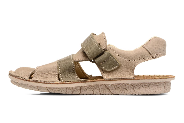 Sandals El Naturalista Kiri E286 Grey front view