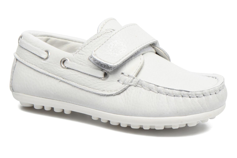 Zapatos con velcro Melania Danielo Blanco vista de detalle / par