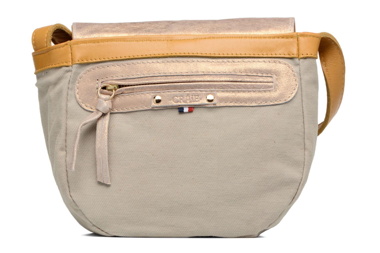 Handtaschen Craie Thèse Bubble gelb ansicht von hinten