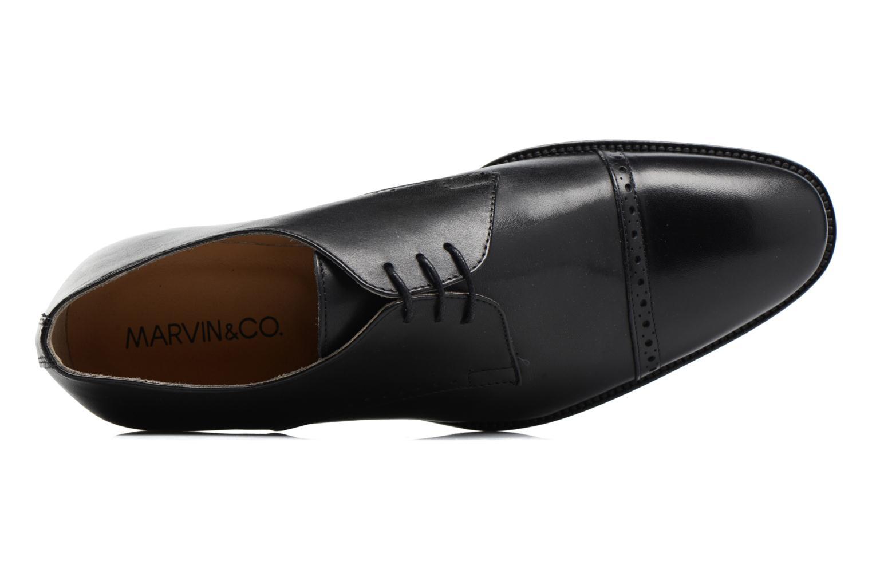 Chaussures à lacets Marvin&Co Dumfries Noir vue gauche
