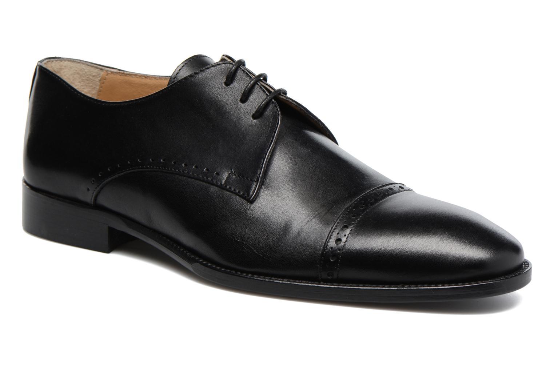 Chaussures à lacets Marvin&Co Dumfries Noir vue détail/paire