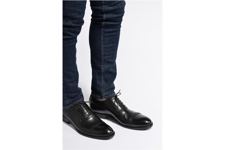 Chaussures à lacets Marvin&Co Dalkeith Bleu vue bas / vue portée sac