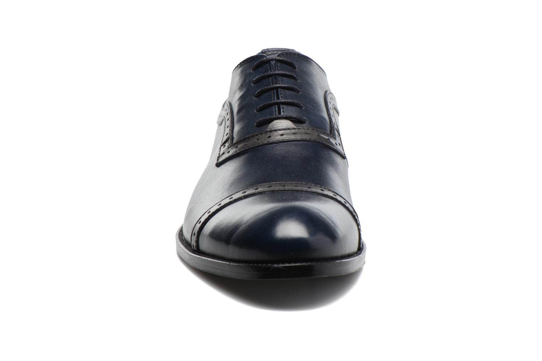 Chaussures à lacets Marvin&Co Dalkeith Bleu vue portées chaussures
