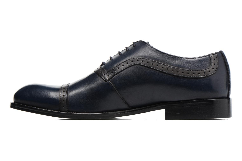 Chaussures à lacets Marvin&Co Dalkeith Bleu vue face