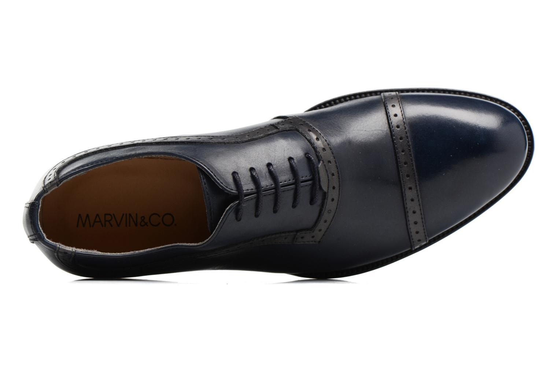 Chaussures à lacets Marvin&Co Dalkeith Bleu vue gauche