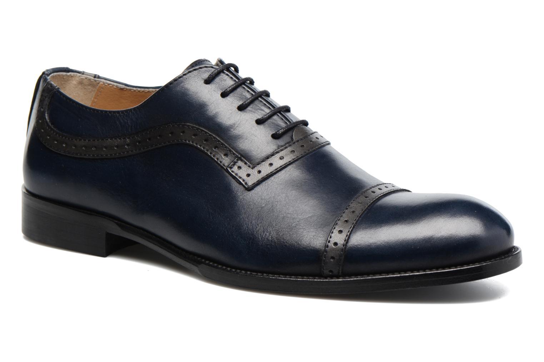 Chaussures à lacets Marvin&Co Dalkeith Bleu vue détail/paire