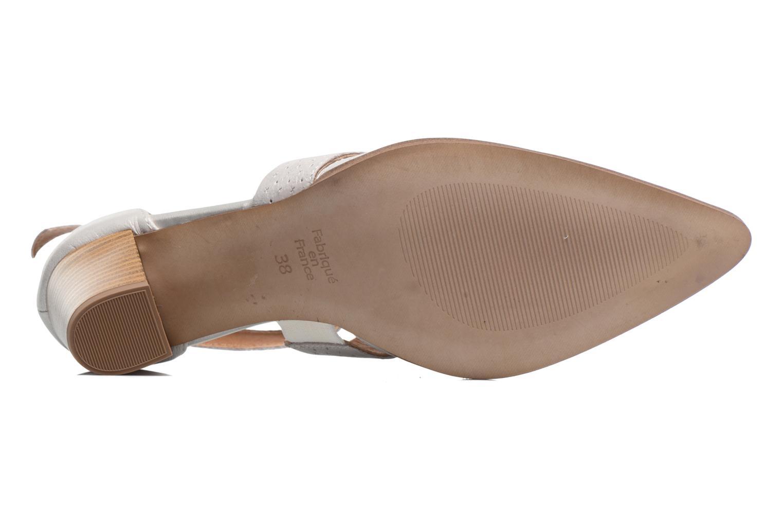 Zapatos de tacón Karston Kzetou Plateado vista de arriba