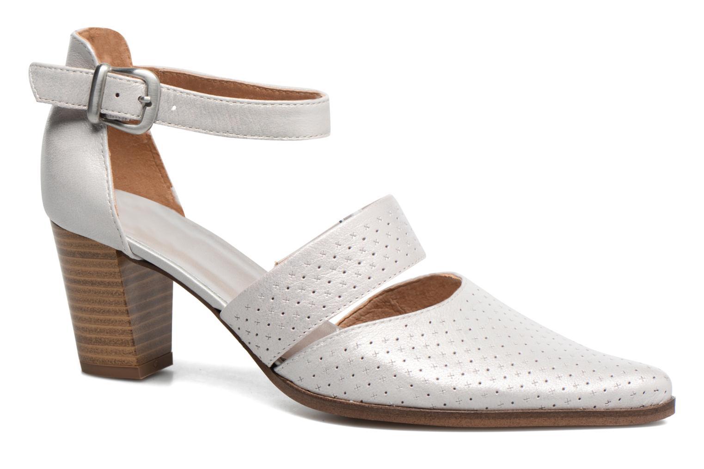 Zapatos de tacón Karston Kzetou Plateado vista de detalle / par