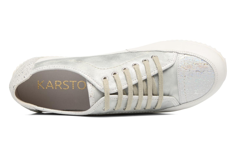 Sneaker Karston Caloza weiß ansicht von links