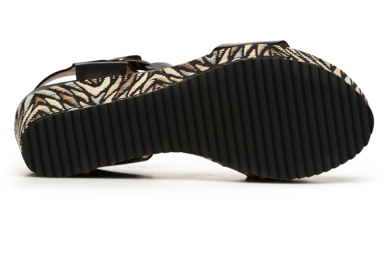 Sandales et nu-pieds Karston Lamiou Marron vue haut