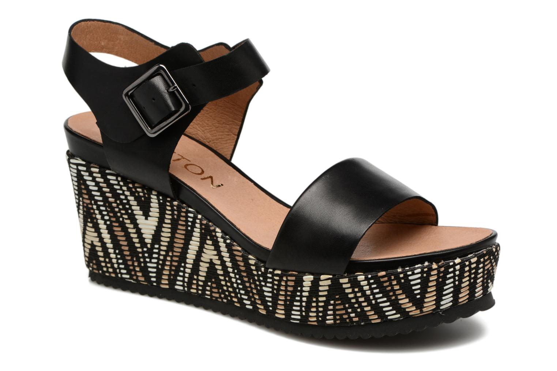 Sandales et nu-pieds Karston Lamiou Marron vue détail/paire