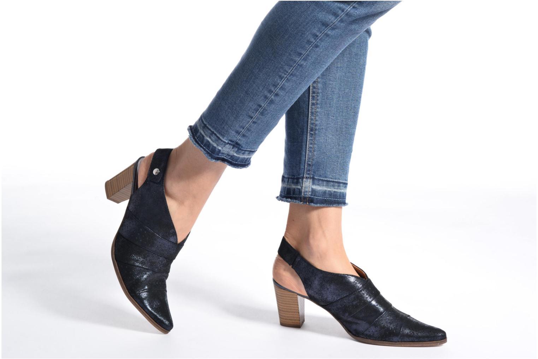 Bottines et boots Karston Kzocho Bleu vue bas / vue portée sac