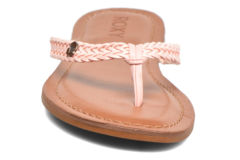 Tongs Roxy Carmen Rose vue portées chaussures