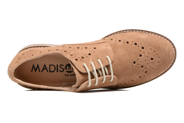 Chaussures à lacets Madison Aclina Marron vue gauche