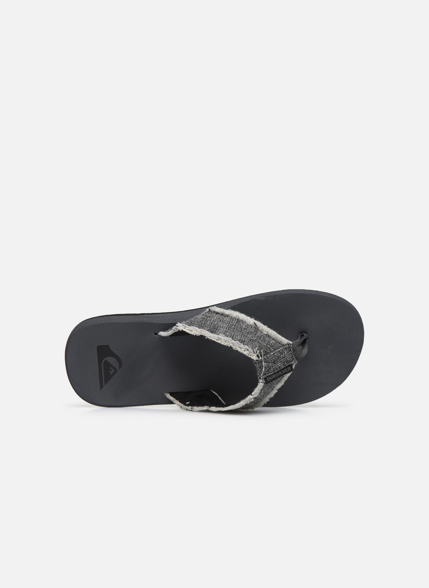 Flip flops Quiksilver Monkey Abyss M Grey view from the left