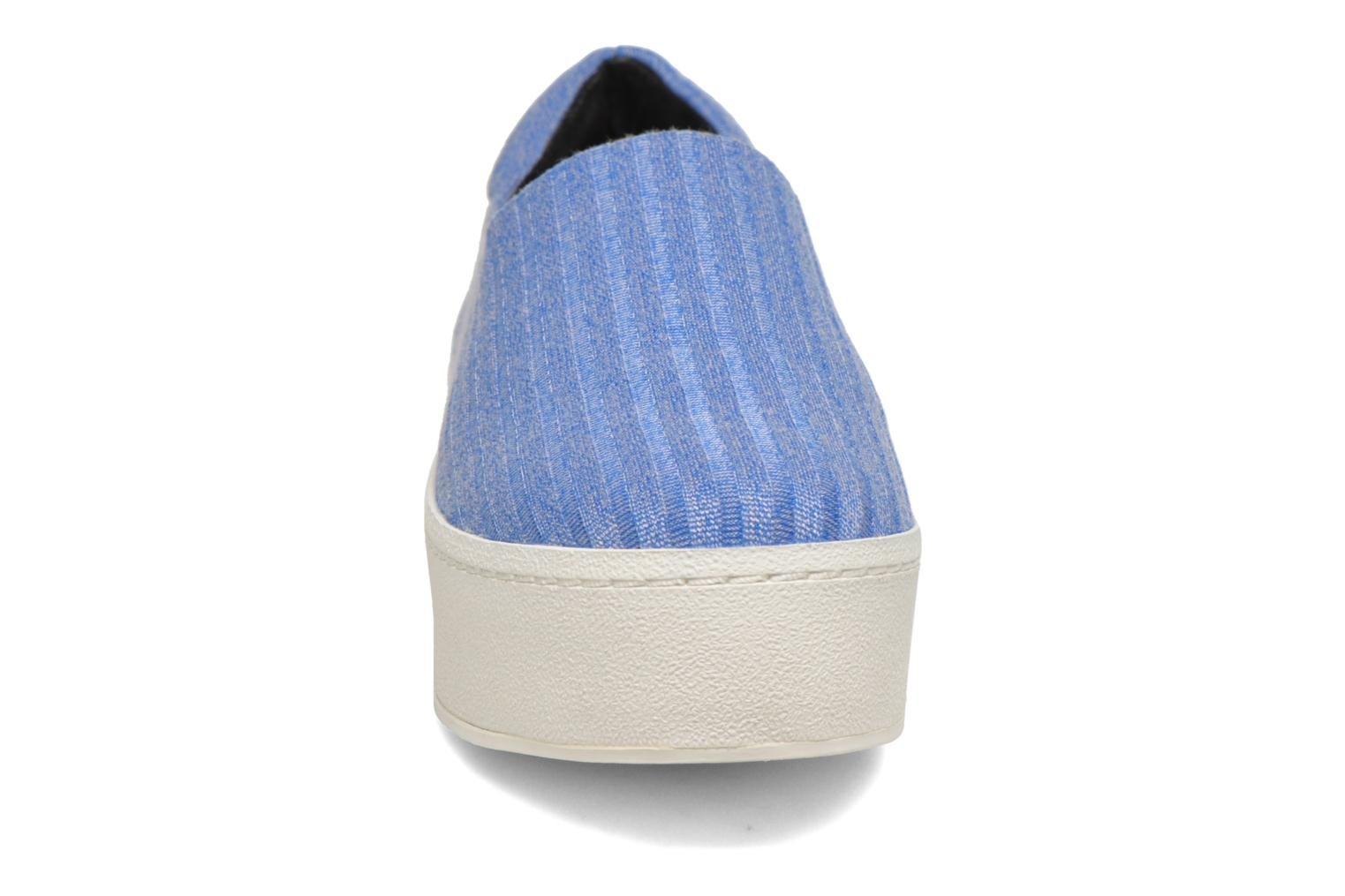 Baskets Opening Ceremony Cici Ribbed Bleu vue portées chaussures