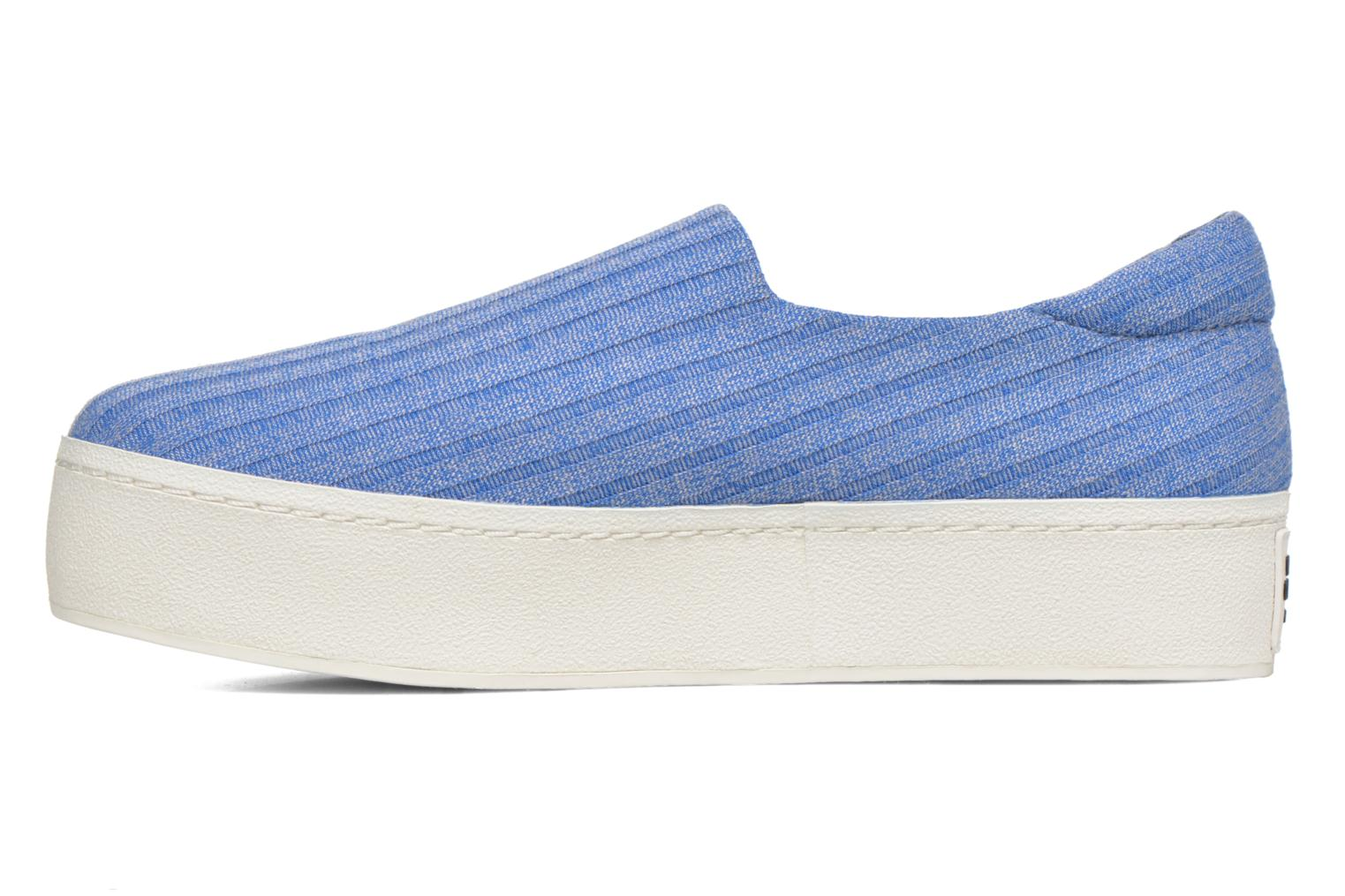 Baskets Opening Ceremony Cici Ribbed Bleu vue face