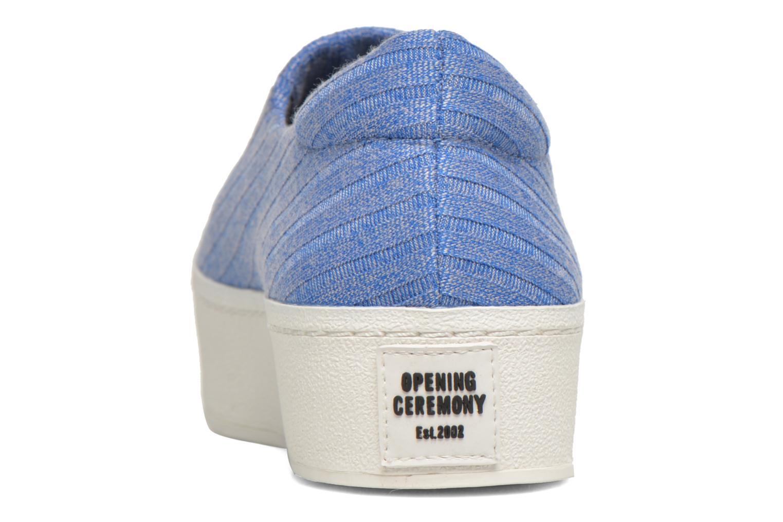 Sneakers Opening Ceremony Cici Ribbed Blå Se fra højre
