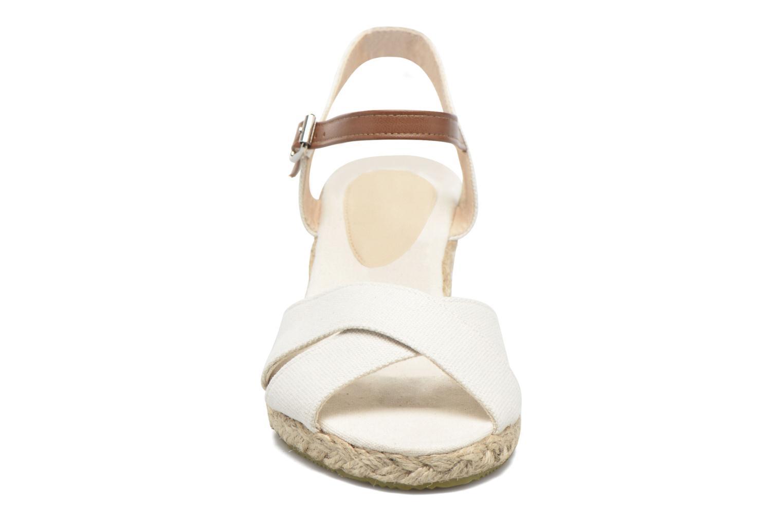 Sandales et nu-pieds I Love Shoes MCEMIMI Blanc vue portées chaussures