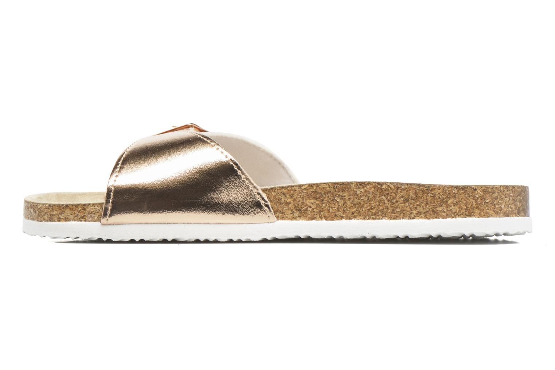 Mules et sabots I Love Shoes MCALER Or et bronze vue face