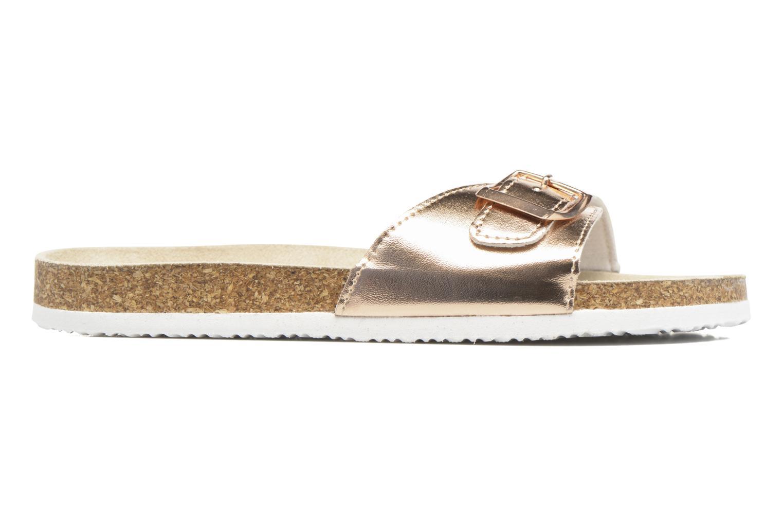 Mules et sabots I Love Shoes MCALER Or et bronze vue derrière