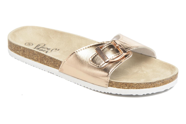 Mules et sabots I Love Shoes MCALER Or et bronze vue détail/paire