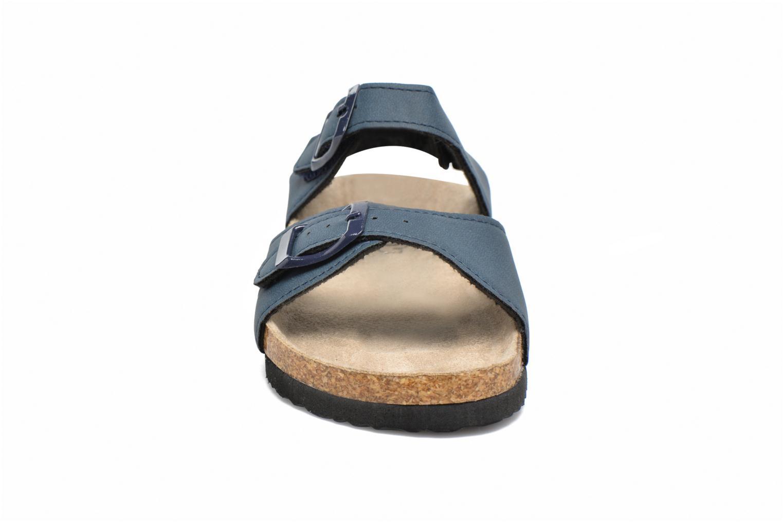 Sandali e scarpe aperte I Love Shoes MCGEE Azzurro modello indossato