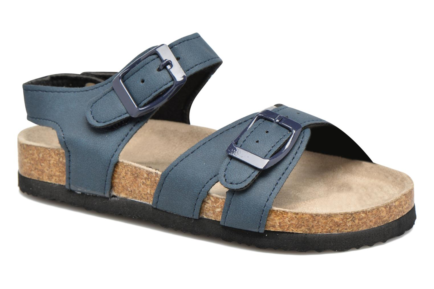 Sandals I Love Shoes MCGEE Blue detailed view/ Pair view