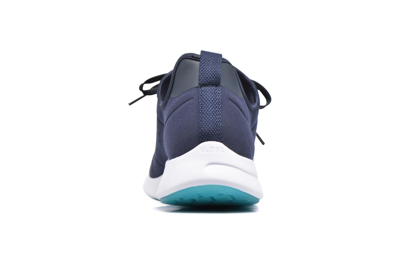 Baskets Globe Dart LYT Bleu vue droite