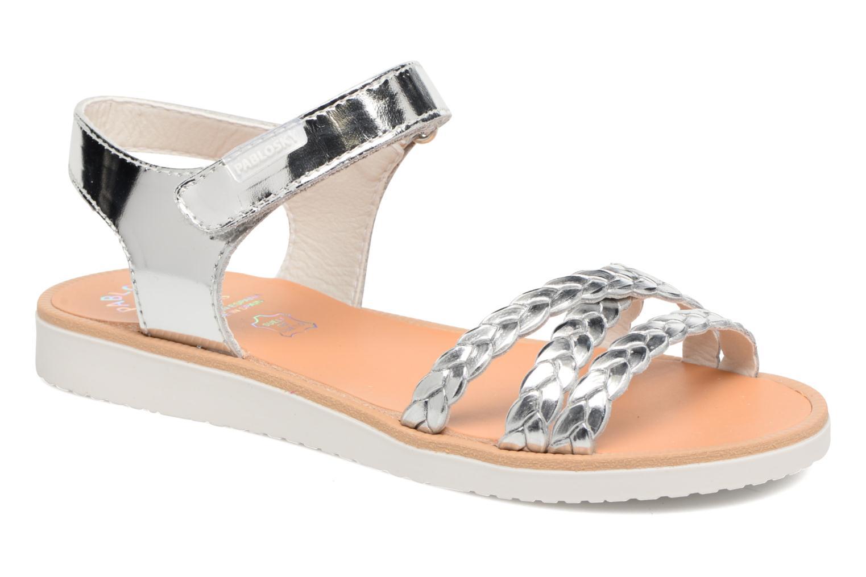 Sandales et nu-pieds Pablosky Eduina Argent vue détail/paire